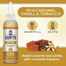 RY4 Caramel Vanilla Tobacco  - Dainty's Premium 50/50 80ML
