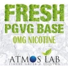 Base 100ml ATMOSLAB FRESH PG VG 0mg 50/50