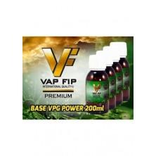 Base 200ml 50PG/50VG VAP FIP 0mg de nicotina