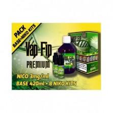 BASE 500ml 50VG/50PG 3mg/ml NICO (420ml+8 Nicokits) - VAP FIP