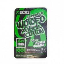 Algodón Profile Xfiber Cotton (10 pcs) - Wotofo