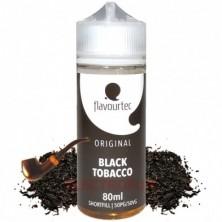 Black tobacco 80ml - Flavourtec