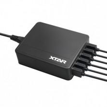 Cargador 45W 6 Puertos USB - XTAR