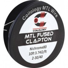 MTL Fused Clapton Heating Wire – Hilo Resistivo - coilogy