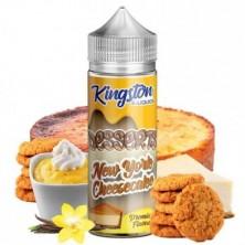 Tarta de queso New York 100ml - Kingston E-liquids