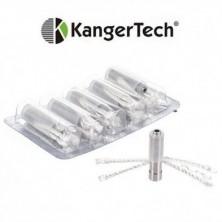 Recambios mecha larga CE6 (T2 Kangertech) claromizador eGo 2.4ml CC (Bobina resistencia intercambiable)